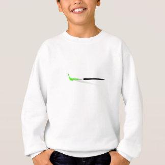 Camiseta Escova de pintura verde