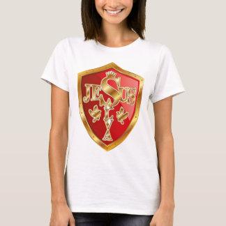 Camiseta Escudo Jesus Salva color