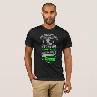 Camiseta Espera dos Stoners dos sinais da parada do