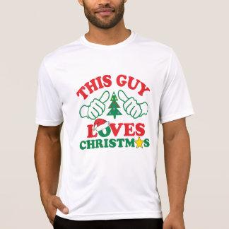 Camiseta Esta cara ama o Natal