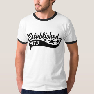 Camiseta Estabelecido 1973