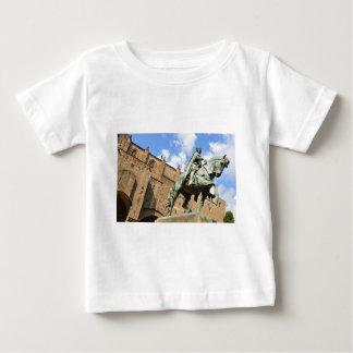 Camiseta Estátua equestre em Barcelona, espanha