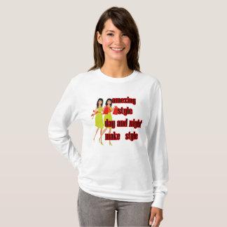 Camiseta estilo amezing