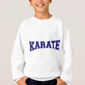 Camiseta Estilo da universidade do karaté