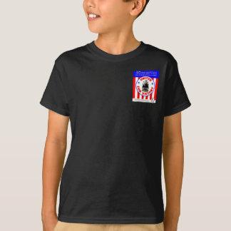 Camiseta Estradas de ferro unidas para o esforço 1940 da