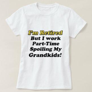 Camiseta Estragando meus netos