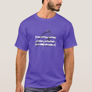 Camiseta Etapa da bicicleta da etapa