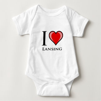 Camiseta Eu amo Lansing