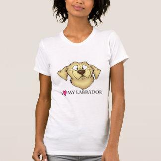 Camiseta Eu amo meu Labrador