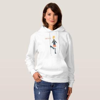 Camiseta Eu amo o hoodie de esqui