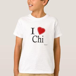 Camiseta Eu amo o qui