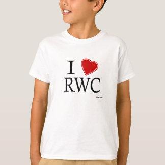 Camiseta Eu amo RWC