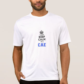 Camiseta Eu chanfro mantenho a calma Im um CAE.