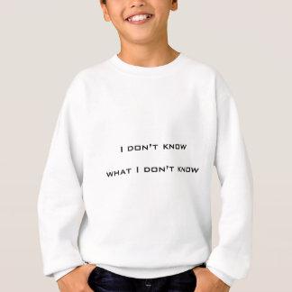 Camiseta Eu não sei