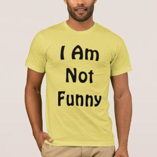 Camiseta Eu não sou engraçado
