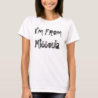 Camiseta Eu sou de Missoula
