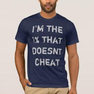 Camiseta Eu sou o 1% que não se engana