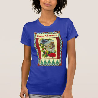 Camiseta Evergreen no Natal