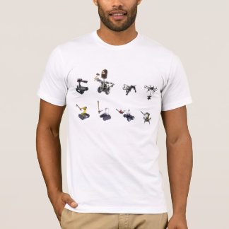 Camiseta Exército do robô