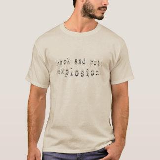 Camiseta Explosão v. 3 do rock and roll