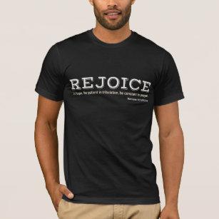 Camiseta EXULTE na ESPERANÇA - 12 12 dos romanos 6d2851415011b