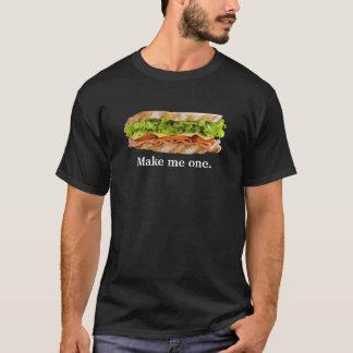 Camiseta Faça-me um sanduíche