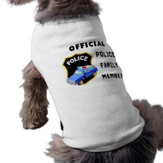 Camiseta Família oficial da polícia