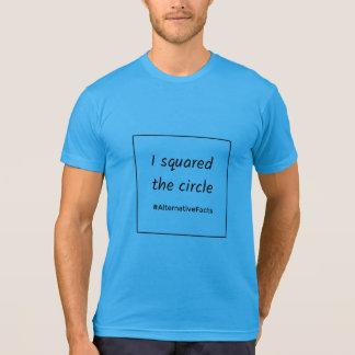Camiseta Fatos engraçados do alternativo do círculo do