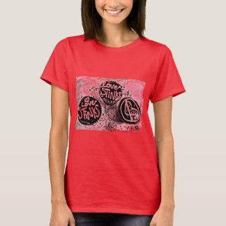 Camiseta Fedores do amor
