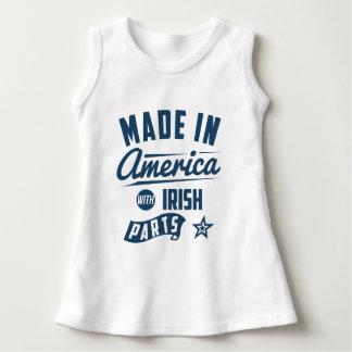 Camiseta Feito em América com peças irlandesas