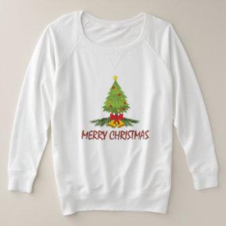 Camiseta Feliz Natal da árvore de Natal