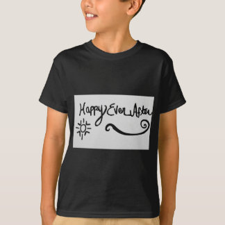 Camiseta Feliz sempre em seguida