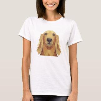 Camiseta feminina Golden Retriever