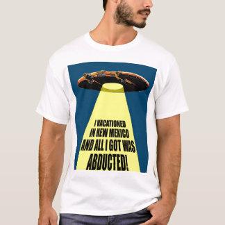 Camiseta Férias da abducção do UFO