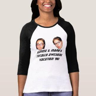 Camiseta Férias totalmente impressionantes!