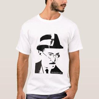 Camiseta Fernando Pessoa - vetor