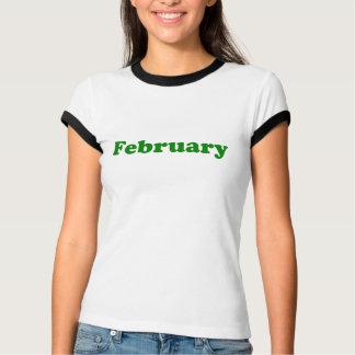 Camiseta Fevereiro
