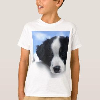 Camiseta Filhote de cachorro australiano do Sheepdog