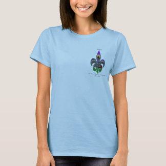Camiseta Flor de lis de Louisiana