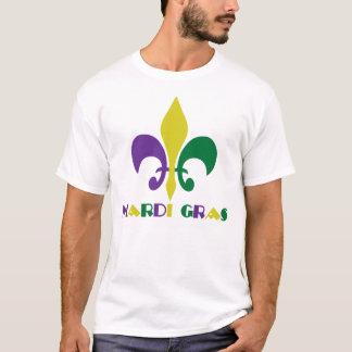 Camiseta Flor de lis do ~ do carnaval