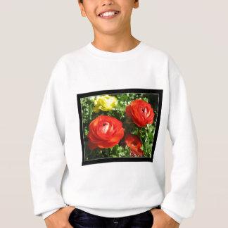 Camiseta Flor vermelha do ranúnculo