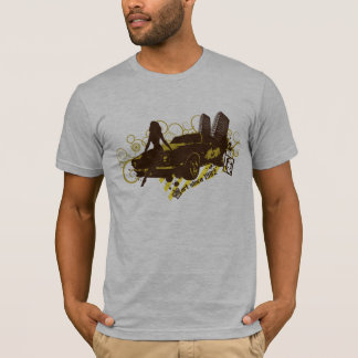 Camiseta Flourish do carro de Hiphop