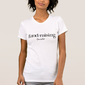Camiseta fundraising