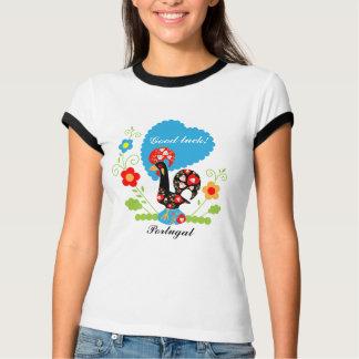 Camiseta Galo português da boa sorte
