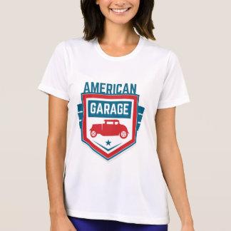 Camiseta Garagem de América. Vintage referente à cultura