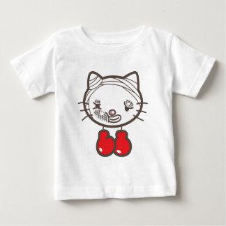 Camiseta Gatinho do encaixotamento