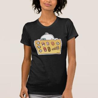 Camiseta Gato do sushi