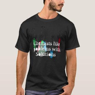 Camiseta Geeky da HASTE das soluções da química