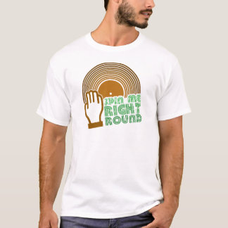 Camiseta Gire-me círculo direito