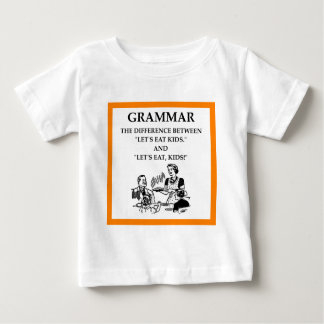Camiseta gramática